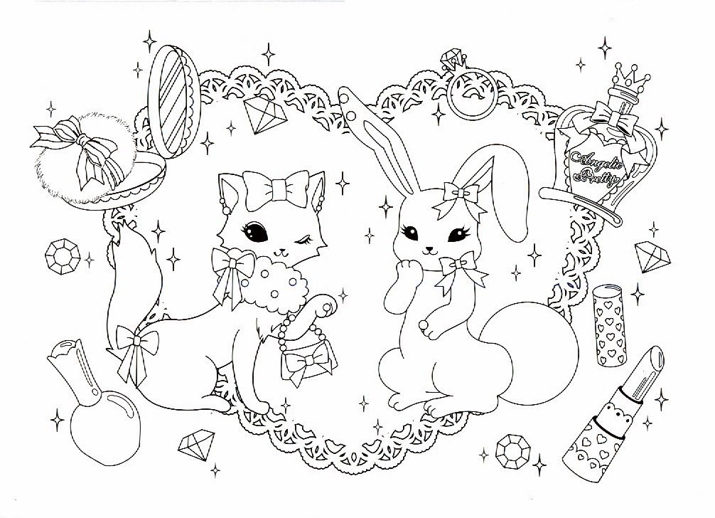 angelic pretty coloring book - Ap Coloring Book