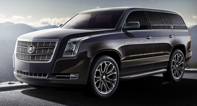 exclusive 2014 cadillac escalade here 39 s your first official look and insider info we. Black Bedroom Furniture Sets. Home Design Ideas