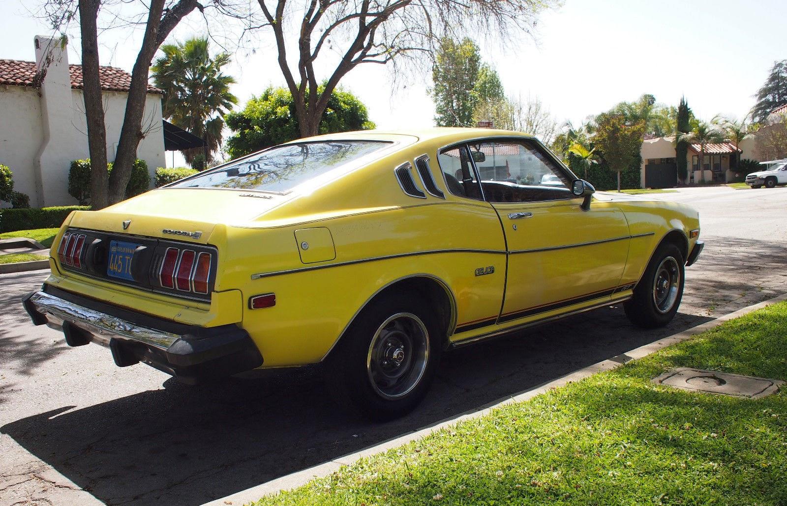 5k yellow bird 1977 toyota celica gt liftback