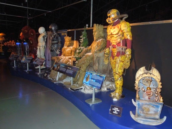 Doctor Who costumes and props