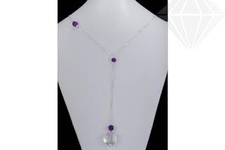Imaginea colierului cu cristale semipretioase recomandat zodiei Taur