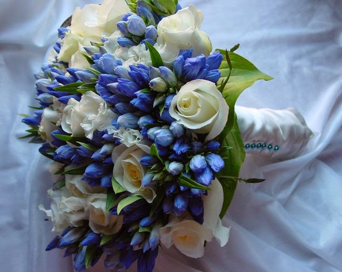 Wedding bouquet ideas ideas of spring wedding bouquets blue spring wedding bouquets mightylinksfo