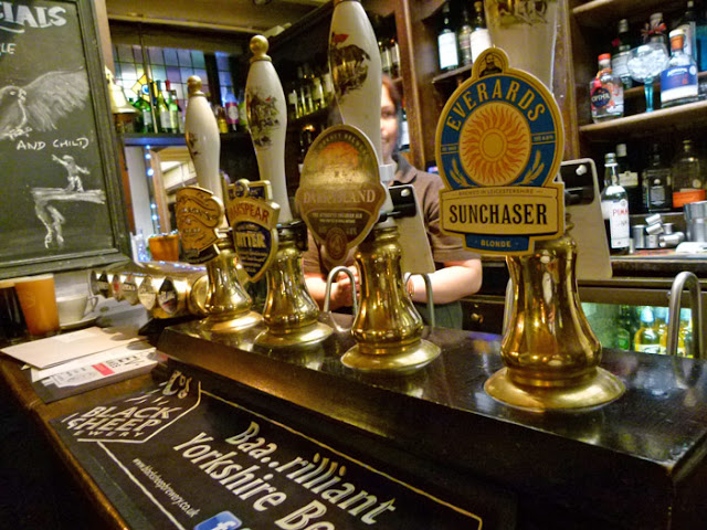 Eagle and Child, Oxford, real ale