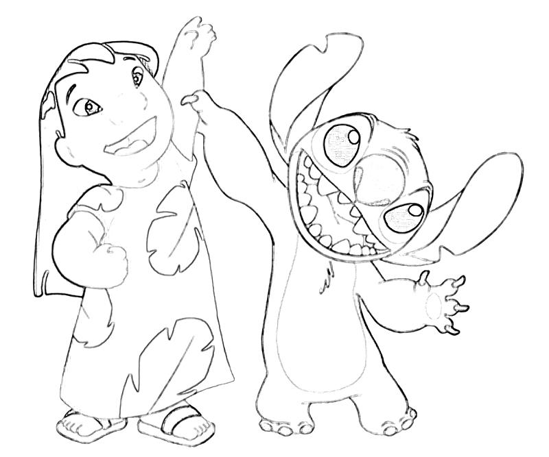 Dancing Coloring Pages