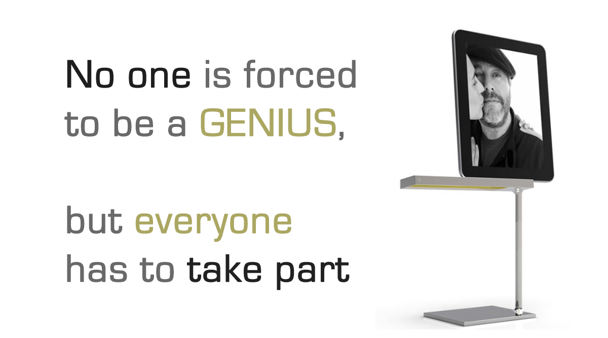Philippe Starck - No one is forced to be a genious