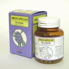 alcachofa pastillas