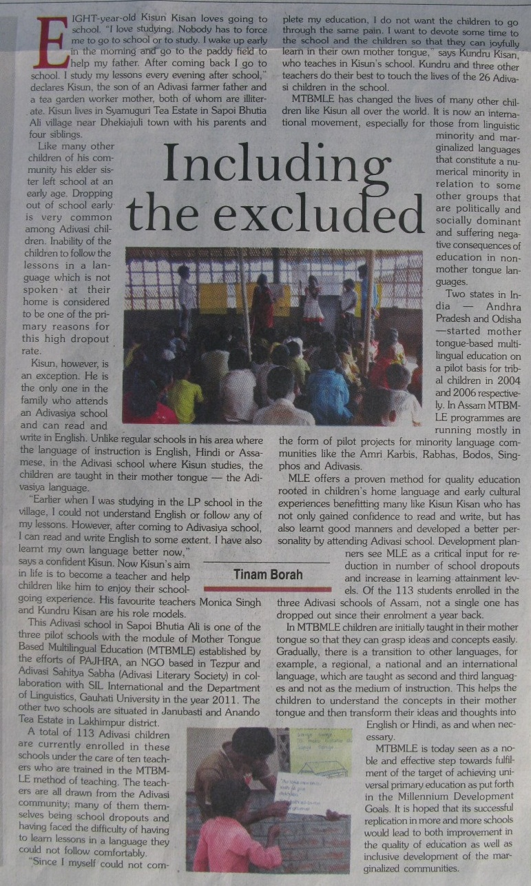 newspaper article about government