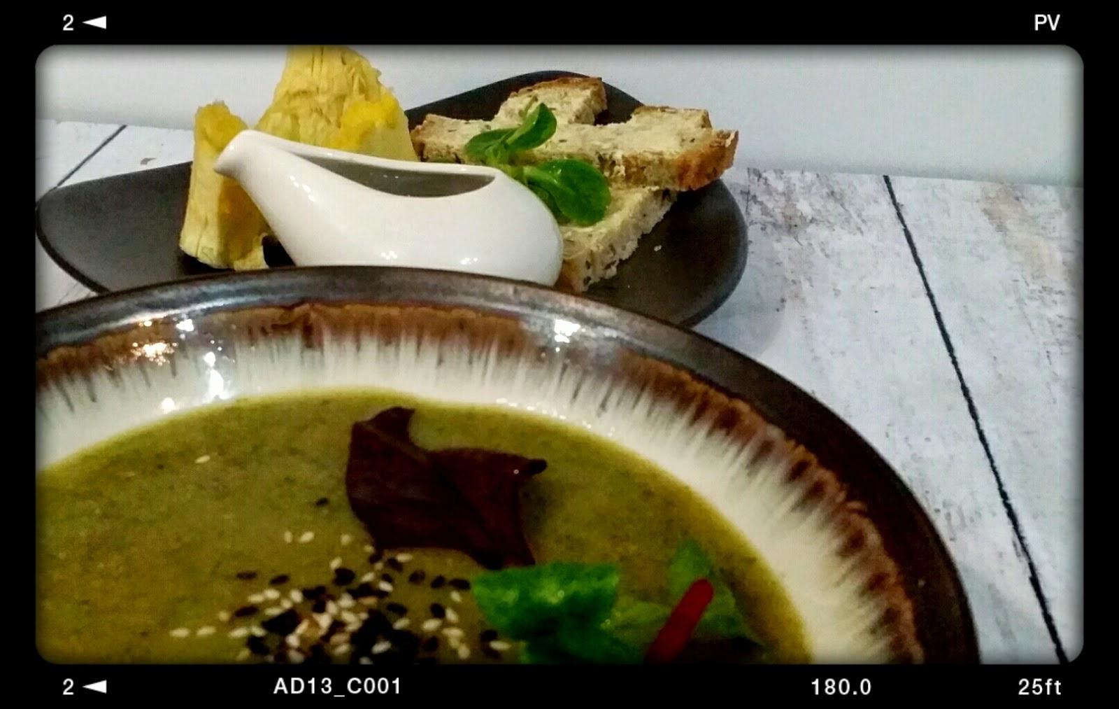 Leafy green soup