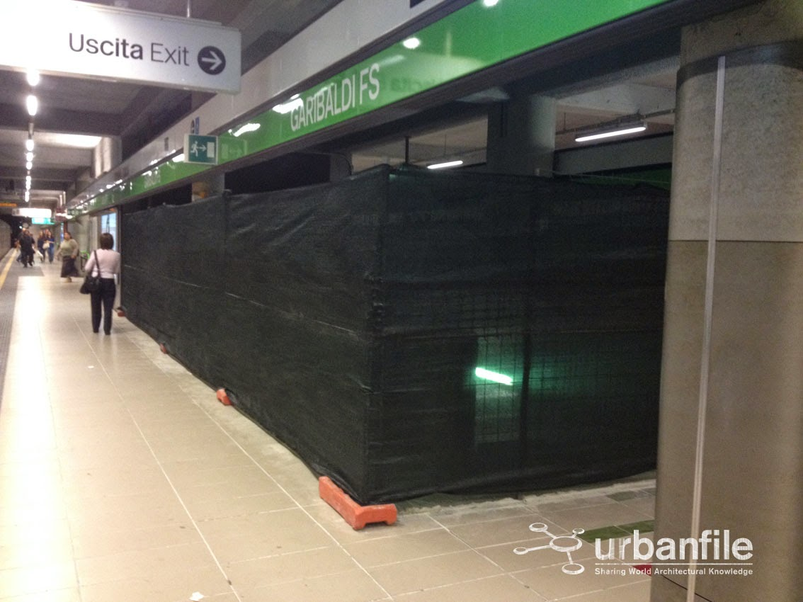 Zona porta garibaldi lavori m5 in garibaldi i - Passante ferroviario porta garibaldi ...