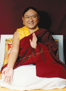 HH Sakya Trizin.