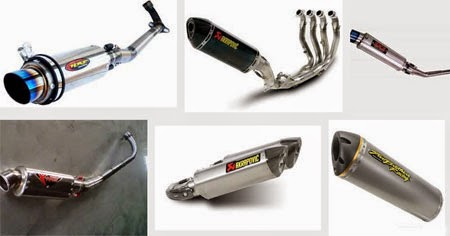 tips memilih knalpot racing motor