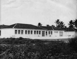 Escola João Pessoa Guerra no ano de sua fundação (1966)