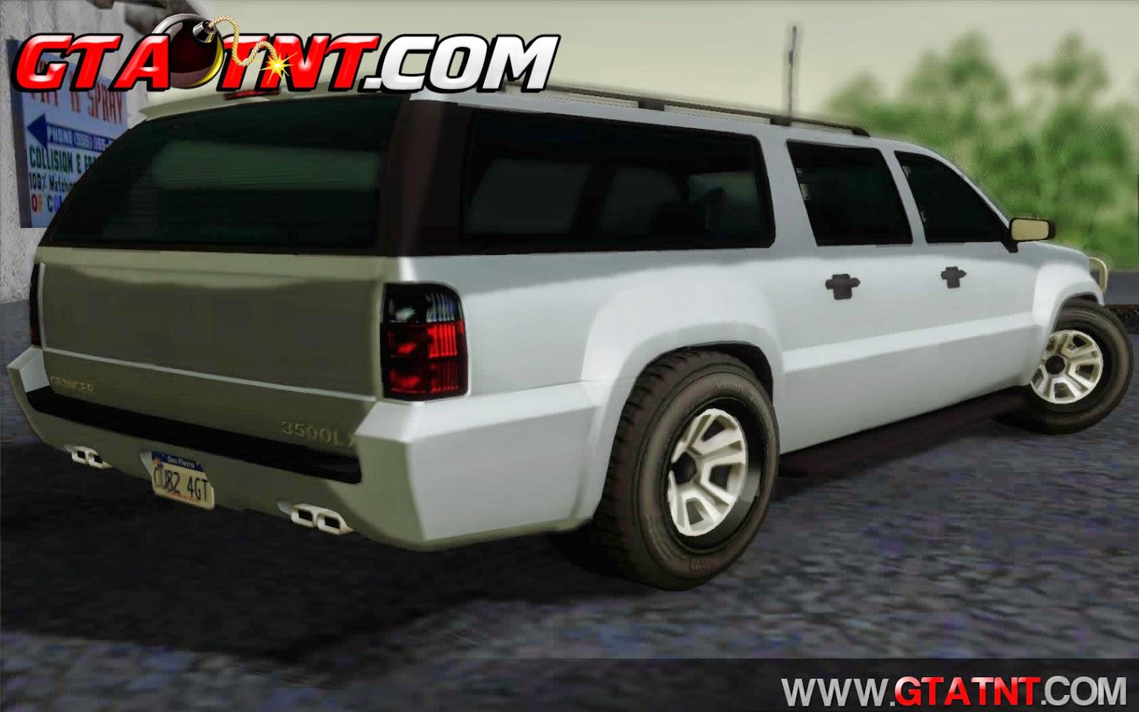 DeClasse Granger Convertido do GTA V para GTA San Andreas