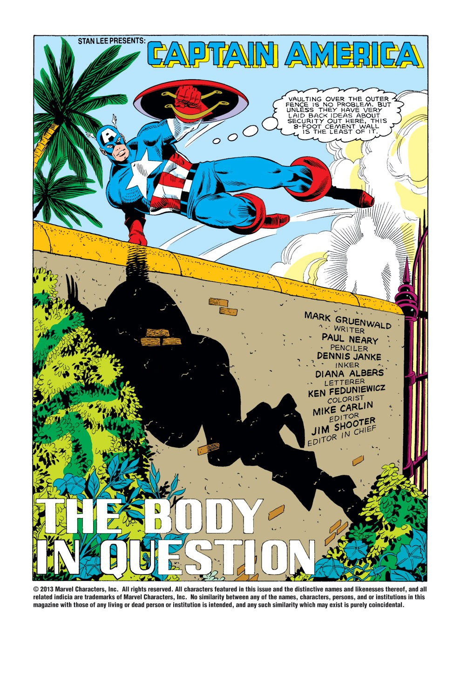 Captain America (1968) Issue #308 #236 - English 2