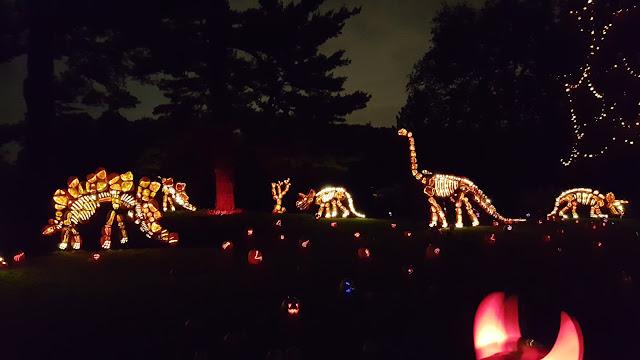 Dinosaur Jack O'Lanterns