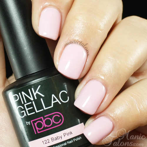 Pink Gellac Baby Pink Swatch