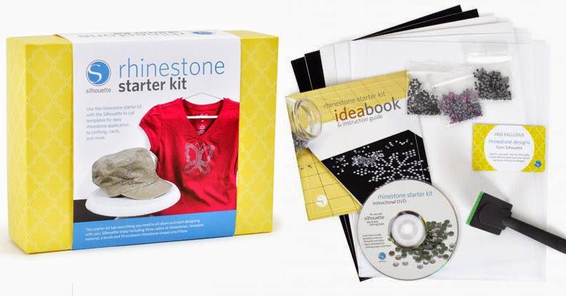 Kit de iniciación Rhinestones de SIlhouette
