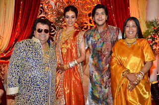 Bappa Lahiri & Taneesha Verma wedding Reception