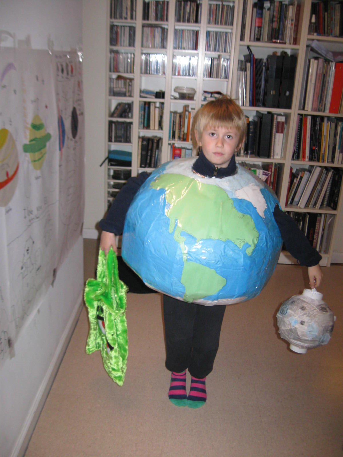planet earth halloween costume