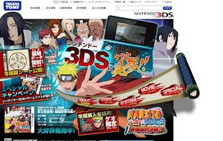 Chokocat\u002639;s Anime Video Games: 2146  Naruto Nintendo 3DS