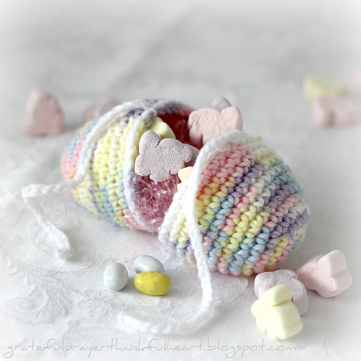 Crochet Easter Eggs : With a Grateful Prayer and a Thankful Heart: Crochet Easter Egg
