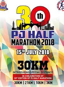 PJ Half Marathon 2018 - 15 July 2018