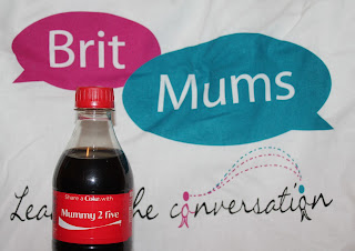 Personalised Coke bottles from BritMumsLive