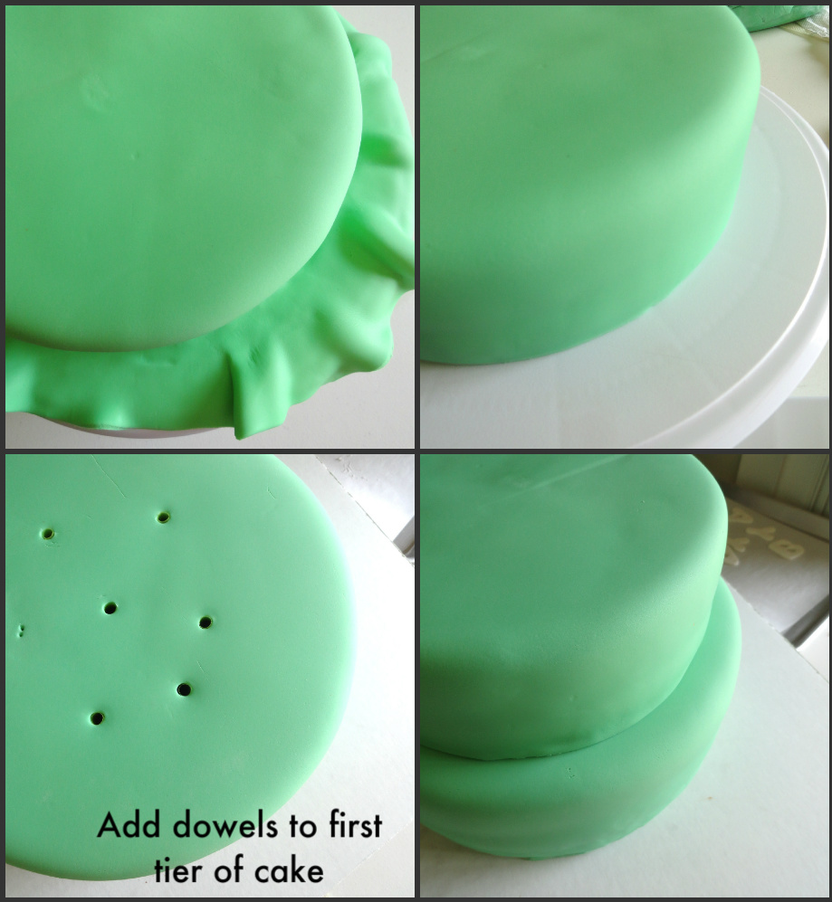 Baby Shower Cake Tutorial by Pink Little Cake
