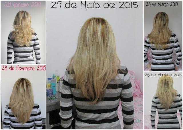 acelerar o crescimento do cabelo, cabelo de duas cores, cabelo vermelho cereja, cabelo colorido,