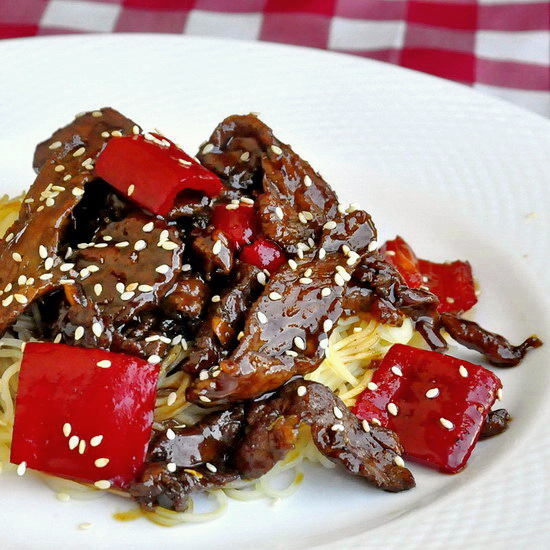 Five Spice Ginger Beef