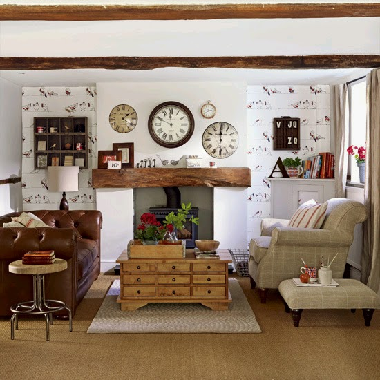 salas estilo country ideas para decorar dise 241 ar y