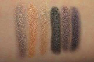 Makeup Revolution Hard Day Salvation Palette swatches