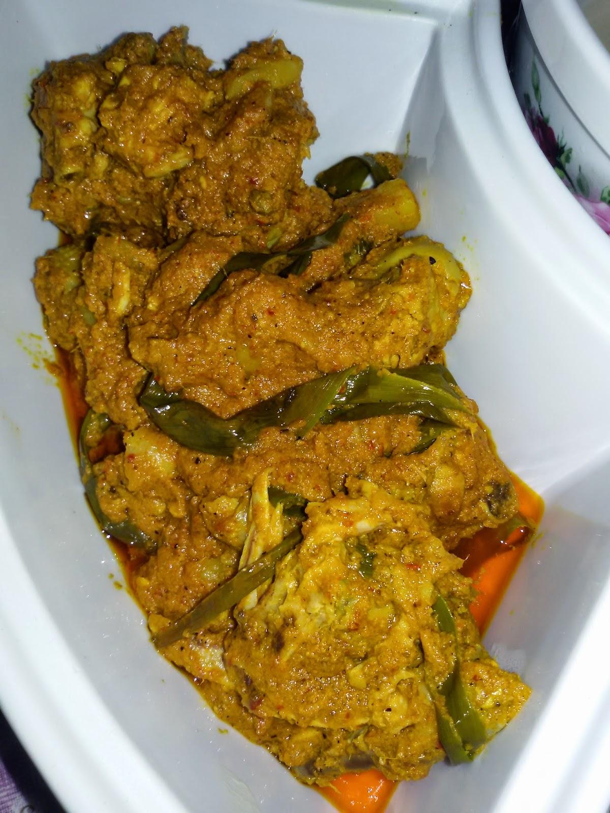 Jalan & Makan: Resepi Rendang ayam sama Lemang ~ Hidangan ...