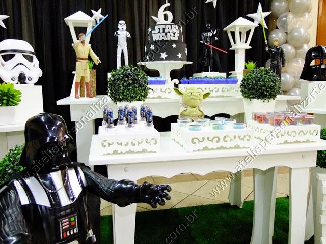 Decoração de festa infantil Star Wars Porto Alegre