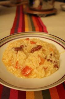 risotto chorizo