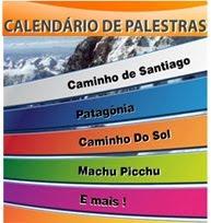Calendário de Palestras