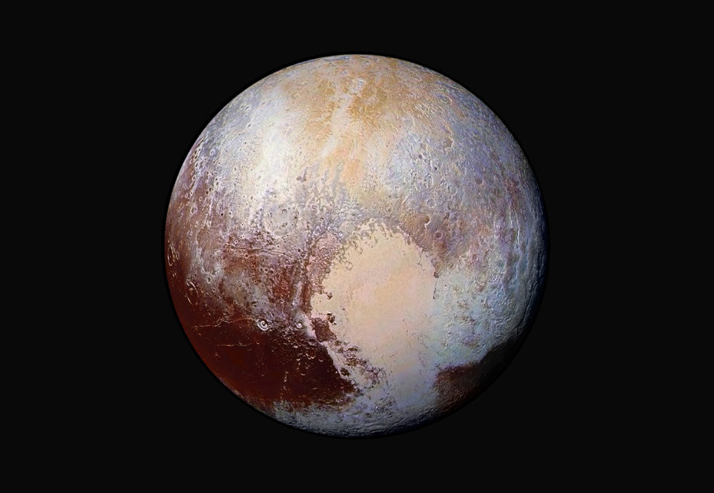 LORRI Image of Pluto