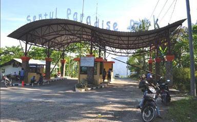 Jaka Tarub Ngintip Para Bidadari Jadi Nama Air Terjun Di Sentul