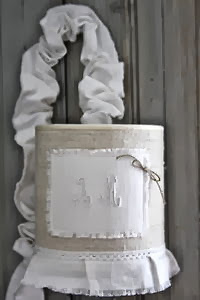 baladeuse en tissu fait maison