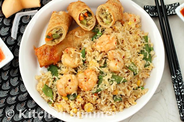 sauce, oyster sauce and sesame oil. Stir shrimp and veggies with sauce ...