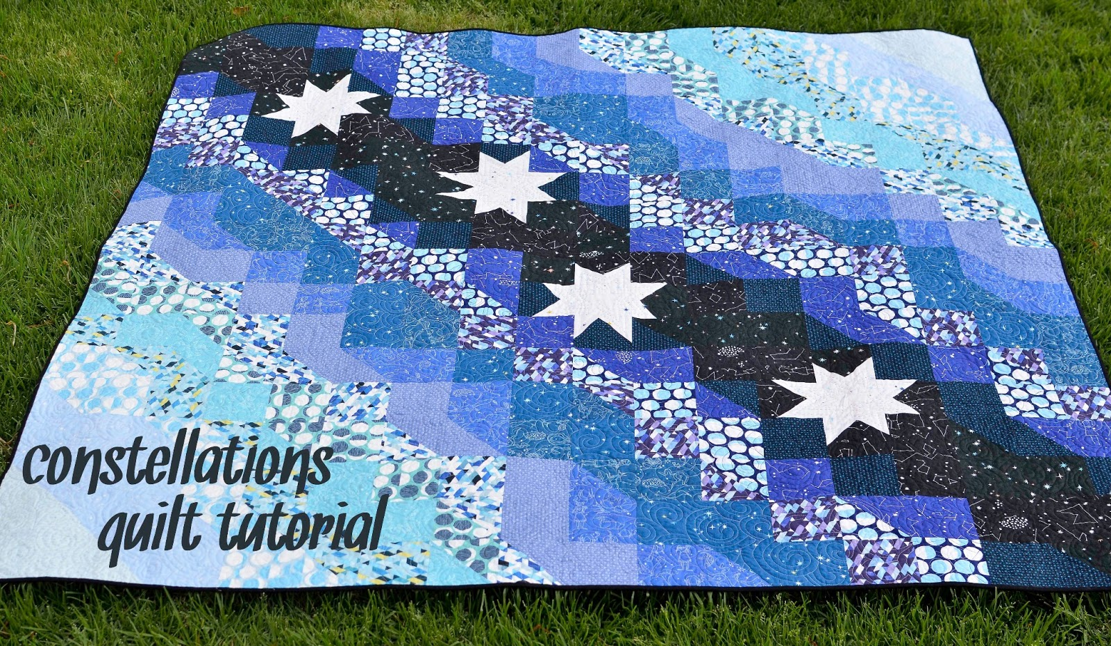 Constellations Quilt Tutorial | Kitchen Table Quilting