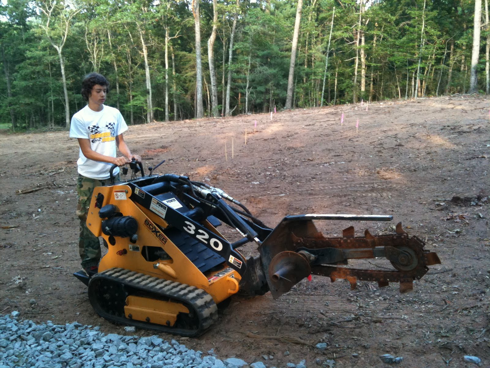 Five Hens Farm Erosion Control Learning the hard way