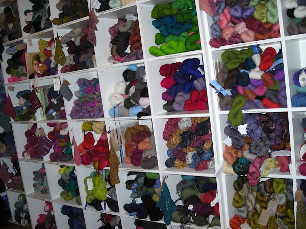 Loop yarn wall