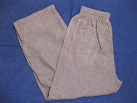 50's BROWN CHAMBRAY             PANTS