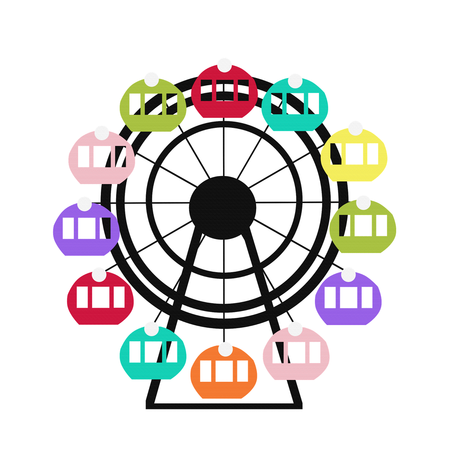 ferris wheel clipart png - photo #14