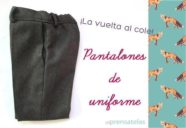 Patrón pantalones uniforme