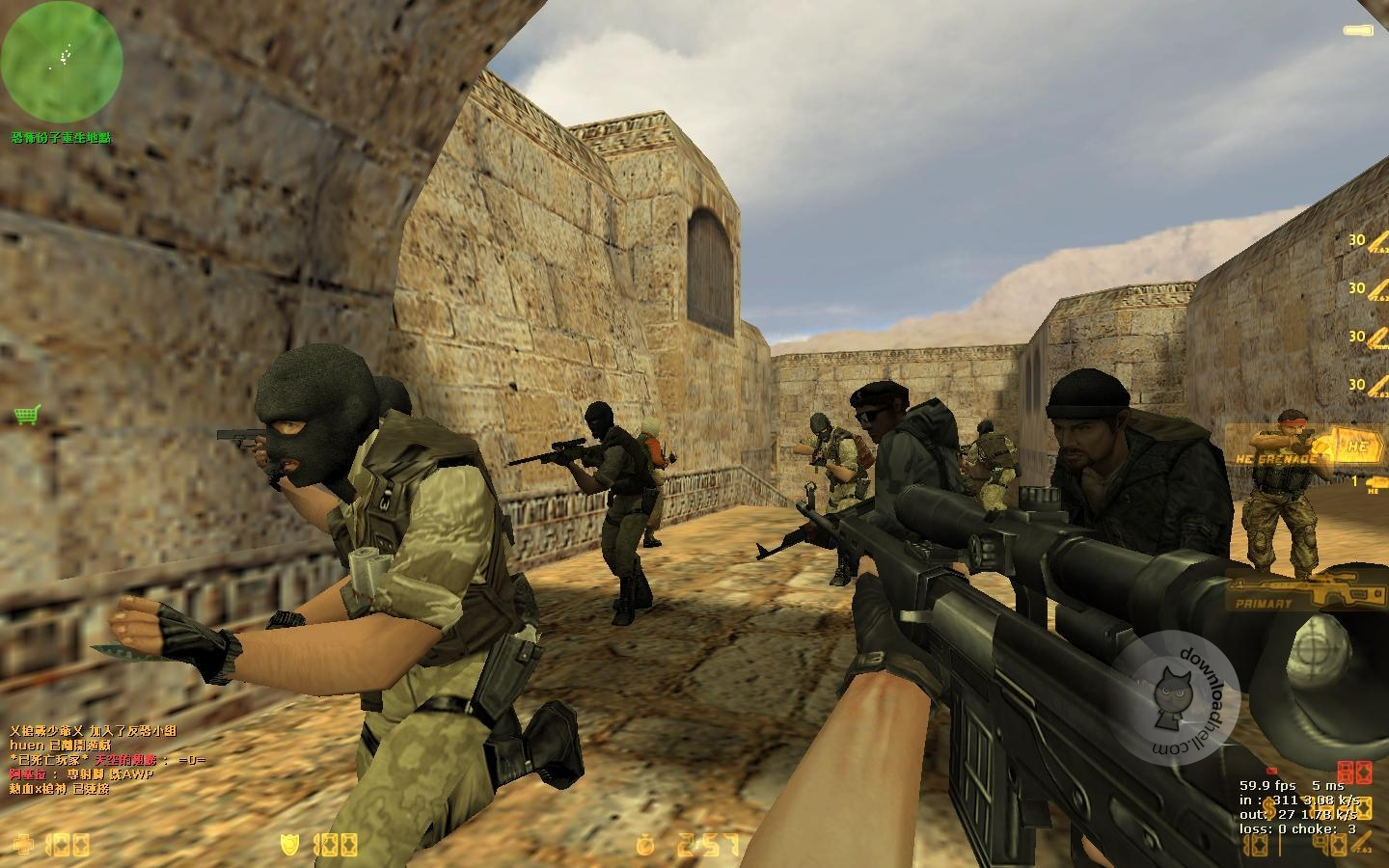 Counter strike 1 6 0 download warzone