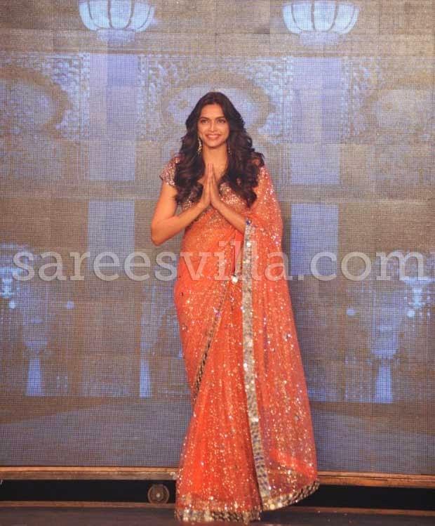Deepika Padukone at 'Happy New Year' Movie Trailer Launch