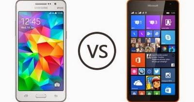 Pilih Microsoft Lumia 535 Atau Samsung Galaxy Grand Prime