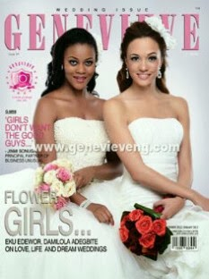 Dami and Eku for Genevieve Dec 2012